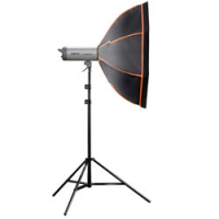 walimex pro Octagon Softbox OL Ø90 Hensel Nr. 19117