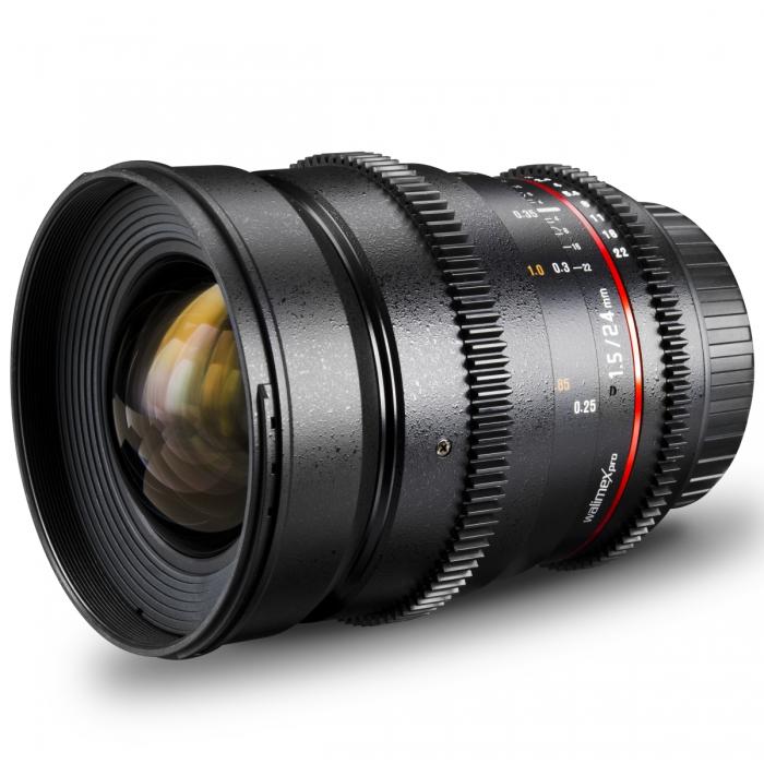 walimex pro 24/1,5 Objektiv VDSLR für Canon - Walimex - Shop