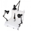 Set of 3 Daylights, 3x 125W + Shooting Table No. 17163