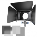 walimex pro Matte Box Director I Kit+gray filters No. 20377